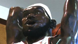 20-foot Lebron James statue comes with tattoos and all