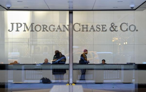 The headquarters of JPMorgan Chase on Park Avenue in New York. JPMorgan and federal authorities are close to a $2-billion settlement over the bank's ties to financier Bernard Madoff.