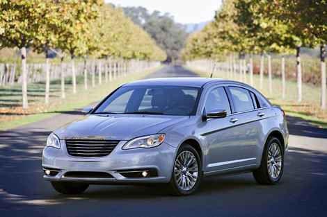 7. 2012 Chrysler 200