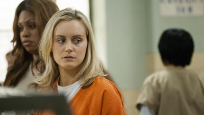 Taylor Schilling: 'Orange Is the New Black' nod is like Christmas