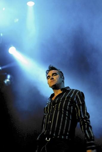 Morrissey, the former frontman of the Smiths.