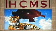 New mural at Hickory Creek Middle School