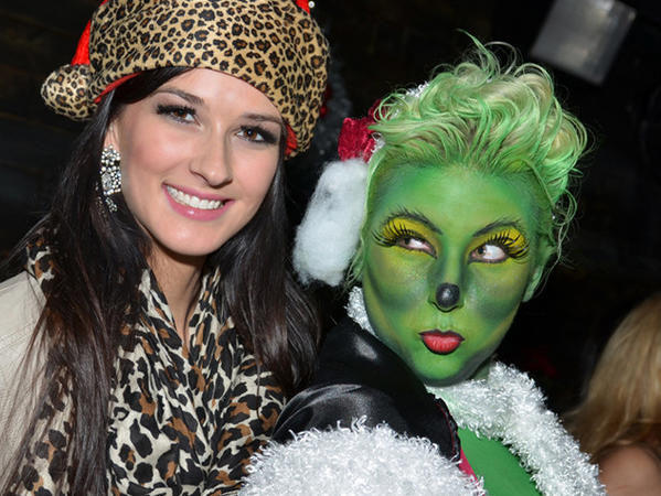Party for a good cause at The Underground's Grinch Who Gave Back Christmas party.