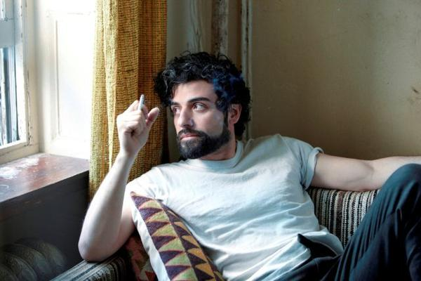 "Oscar Isaac is nominated for a lead actor Golden Globe award for his work in ""Inside Llewyn Davis."""
