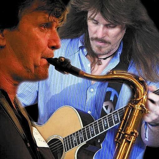 Guitarist Karl Werne is scheduled to play the Hampton History Museum Wednesday, Dec. 18, 2013. Werne is pictured with frequent collaborator and saxophonist Eddie Williams.