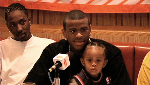 "A still from the documentary ""Lenny Cooke,"" directed by Ben Safdie and Joshua Safdie."