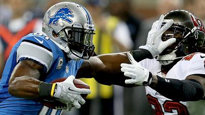 Calvin Johnson prepared to show Matt Elam his 'old-man strength'