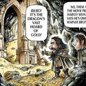 Movie moguls do battle over 'The Hobbit's' golden hoard