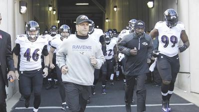 The Ravens' offense takes on whatever personality fits week to week