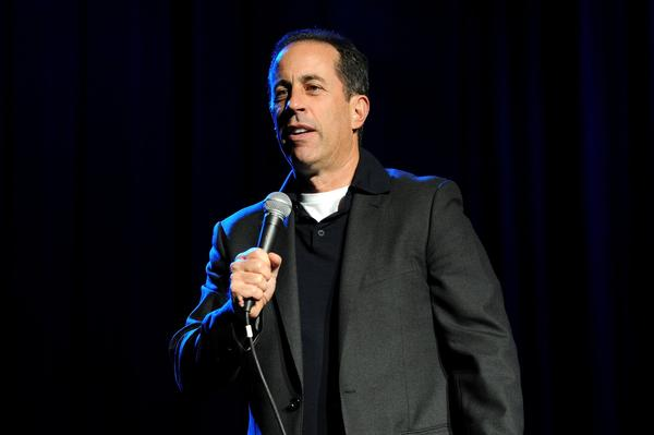 Jerry Seinfeld, seen performing last month at the New York Comedy Festival and Bob Woodruff Foundation's Stand Up for Heroes event, will be back in cars with fellow comedians and coffee.