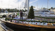Newport lightens up for boat parade