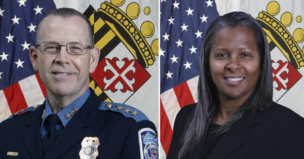 William Lowry has been named the new assistant chief of the Anne Arundel Police Department. Amal Awad is the new civilian chief of staff.