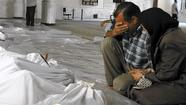 U.N. inspectors in Syria suspect chemical weapons used in five areas