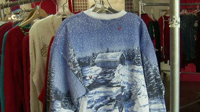 Ugly Christmas Sweater Store Banking on Trend