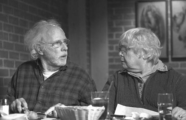 "Bruce Dern and June Squibb star in ""Nebraska."""