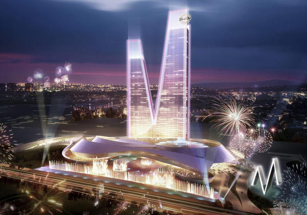 A handout shows a computer generated image of the planned 'EuroVegas' casino and leisure complex in Alcorcon, outside Madrid, Spain. Las Vegas Sands CEO Sheldon Adelson has announced the company will pull out of the project.