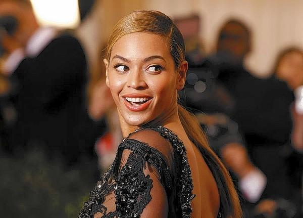 Singer Beyonce arrives at the Metropolitan Museum of Art Costume Institute Benefit in New York.