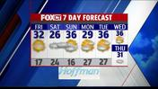Friday Morning Weather: Cold Today, Weekend Snow On The Way