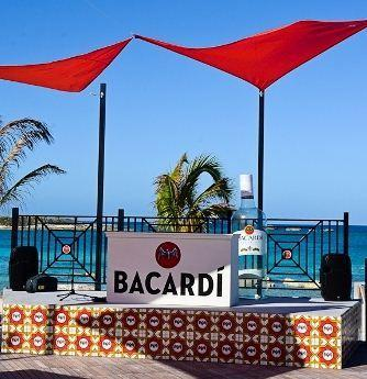 The Bacardi Bar opened recently on Norwegian Cruise Lines private island in the Bahamas Great Stirrup Cay.