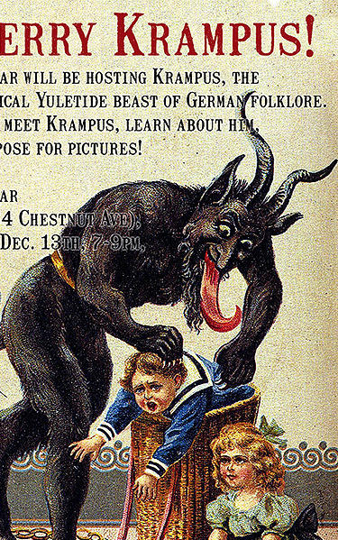 krampus  the frightful christmas beast  is coming to
