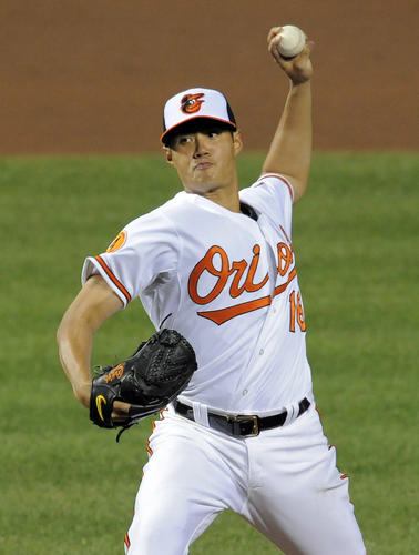 <b>2013 statistics:</b> 7-7, 4.07 ERA in 137 IP <br><br> This is the final season of Chen's three-year, $11.38-million deal with the Orioles. The club owns a very reasonable $4.75-million option for 2015, which would be a bargain if Chen continues on his current path.