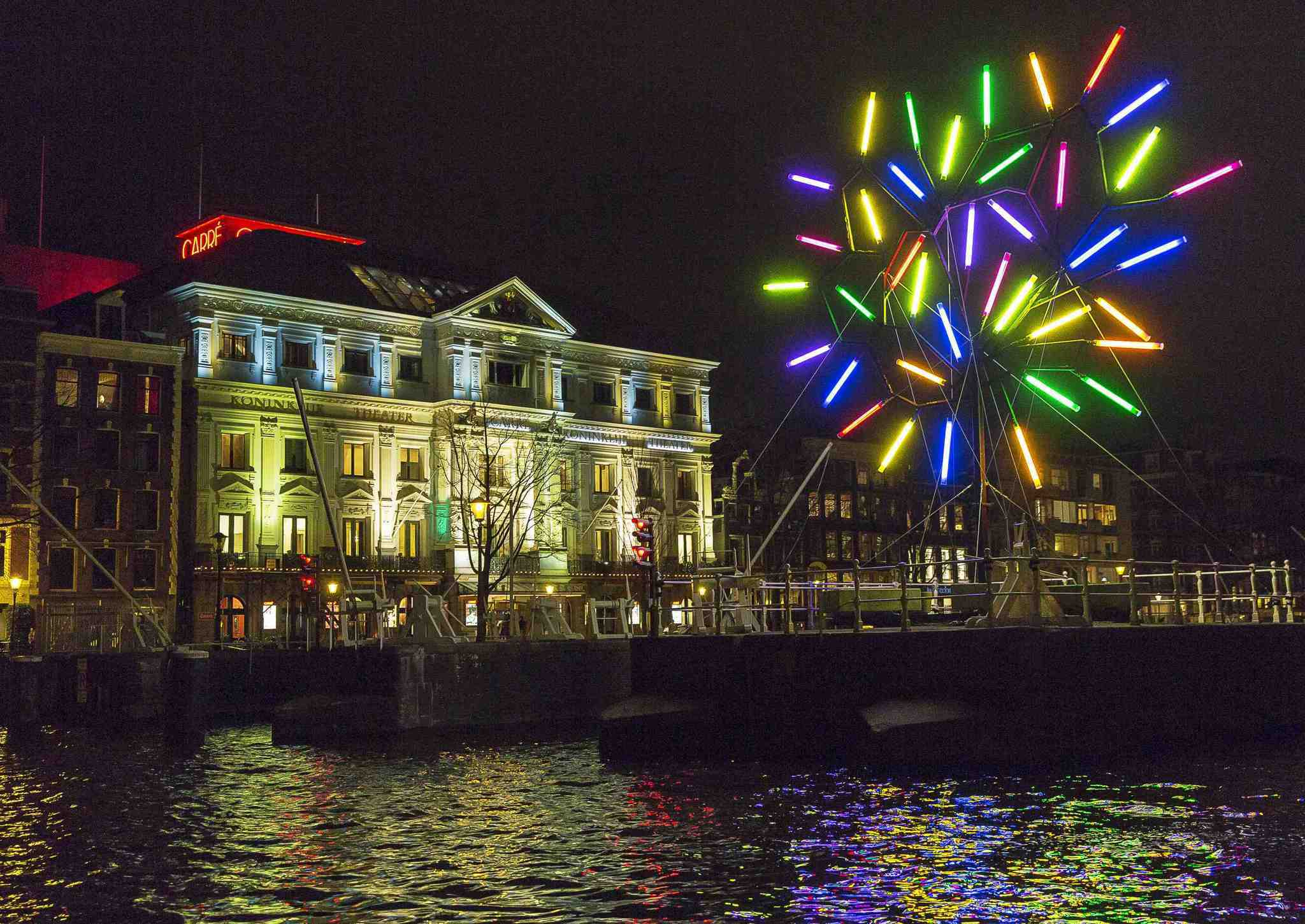 Pictures: Holiday lights from around the globe - Light festival in Amsterdam