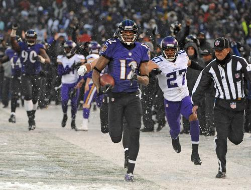 I have a feeling that when a lot of us tell our kids and grandkids about watching the Ravens, this game will come up fairly quickly. <br> <br> We won't call it the greatest game in franchise history. That'd be awfully hard, considering that 11 months ago, Joe Flacco kept his team's Super Bowl run alive with a desperation heave in the waning seconds against the heavily favored Denver Broncos.<br> <br> But this one was just so outlandish, starting with the snow and ice and ending with an exchange of five go-ahead touchdowns in the last 2:07. That still sounded ridiculous as I typed it an hour after Marlon Brown caught Flacco's game-winning pass in the back of the end zone.<br> <br> You know what it reminds me of? That 1983 Orioles game when Tippy Martinez picked off three straight runners with Lenn Sakata playing catcher, and Sakata won the game with a home run in the next half inning.<br> <br> Now, the Orioles would've won the division without that game. But when I talk to fans or former players about 1983, it invariably comes up. There's nothing quite like delightful absurdity.<br> <br> Honestly, the Ravens have just about killed analysis for this season. They're flawed in all the same old ways, from the turnovers to the unreliable run blocking. With Miami winning on Sunday, they may yet fall short of the playoffs.<br> <br> Just consider that we now have this game, the Bengals game in which they bounced back from the last-second Hail Mary and the Mike Tomlin interference game from Thanksgiving night for our collective memory. <br> <br> A cynic might note that only a mediocre team would have gone down to the wire in each of those scenarios. But bury that impulse for now, dear reader. This has been tremendous theater.<br> <br>