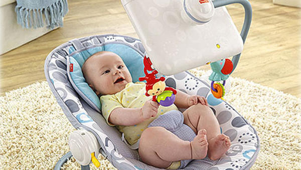 Fisher-Price Newborn-to-Toddler Apptivity Seat