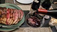 Dinner party menu: Start with the wine