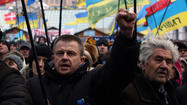 Ukrainian protest leaders meet with president; no breakthrough