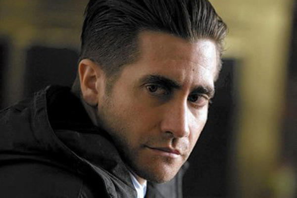 "Jake Gyllenhaal as Detective Loki in ""Prisoners."""