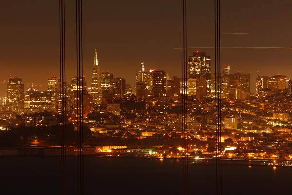 Hotel prices recently surged in San Francisco when three conventions came to town.