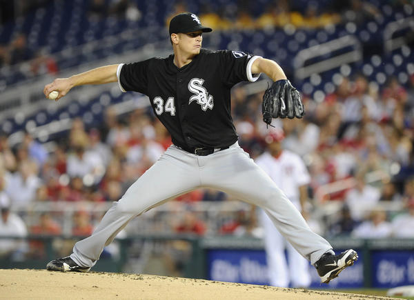 Gavin Floyd made just five starts last season for the Chicago White Sox before season-ending elbow surgery. He finished 0-4 with a 5.18 ERA.