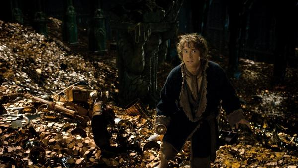 "Martin Freeman as Bilbo in ""The Hobbit: The Desolation of Smaug."""