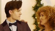 'Doctor Who': Matt Smith's pals croon a repurposed 'Baby, It's Cold Outside'