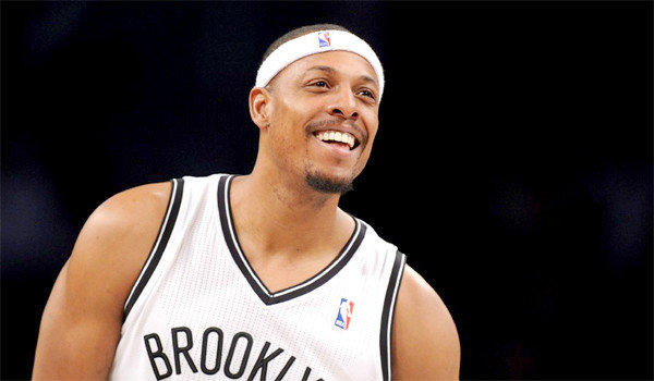 Paul Pierce spent 15 seasons with the Boston Celtics where he won an NBA title in 2007-08 before joining the Brooklyn Nets in the offseason.