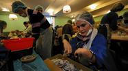 Ukraine protesters hunker down, brace for next conflict