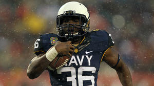 In first Army-Navy game, little sign of freshman nerves for standout Brendon Clements