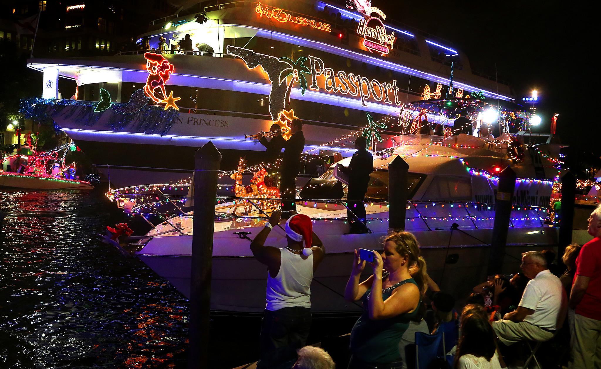 The Winterfest Boat Parade - Boat Parade