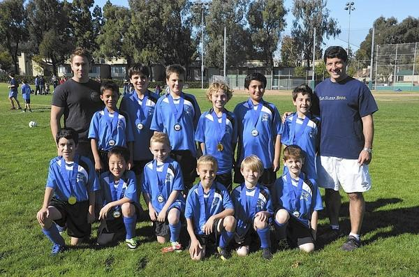 The U-10 HOGO team from the Corona del Mar Region 57 AYSO won the regional finals last weekend.