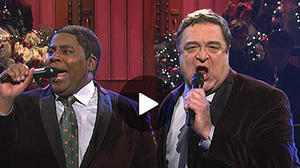 John Goodman brings holiday cheer for his 13th time hosting 'SNL'