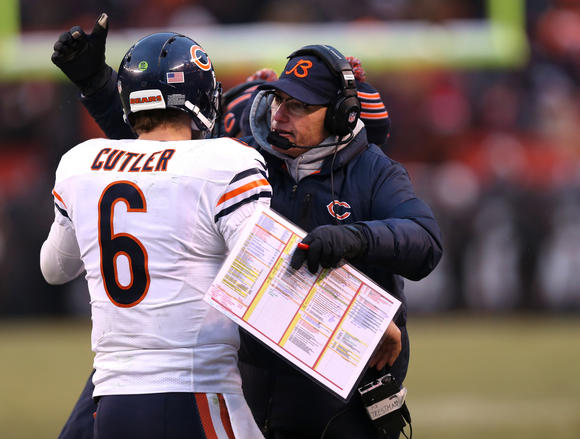 Cutler and coach