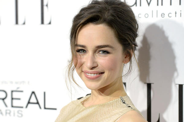 Actress Emilia Clarke attends ELLE's 20th Annual Women In Hollywood Celebration on Oct. 21 in Beverly Hills.