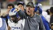 Apopka coach already drawing up plays for 2014