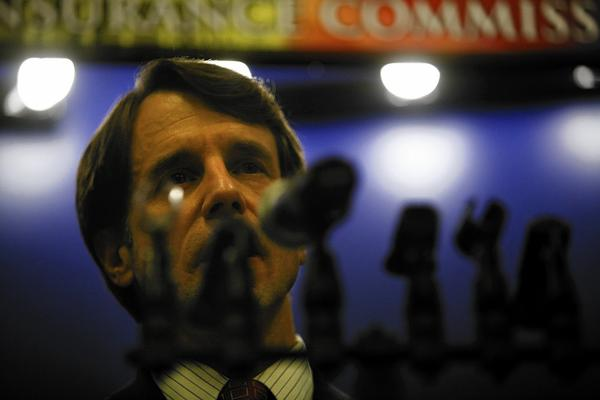 California Insurance Commissioner Dave Jones. The state Insurance Department's law enforcement unit investigates and teams up with county district attorneys to prosecute staged auto collisions, arson, bogus workers' compensation claims, fraud against insurers and policyholders, and other crimes.