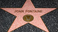 Walk of Fame: Find Joan Fontaine's star