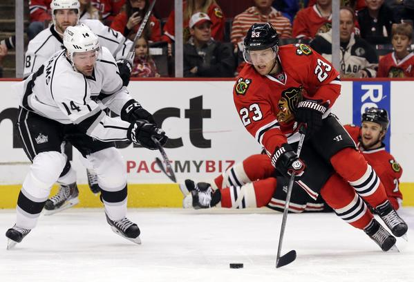 Kris Versteeg, Justin Williams