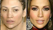 See pictures of celebrities without makeup