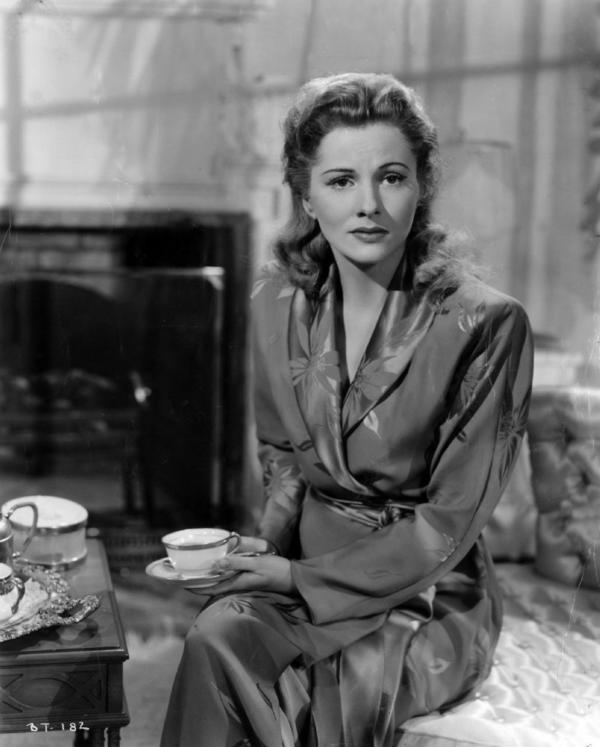 "Joan Fontaine won an Oscar for her performance in ""Suspicion."""