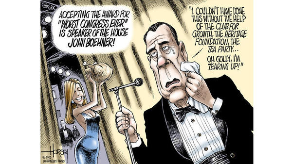 John Boehner and the Worst Congress Ever